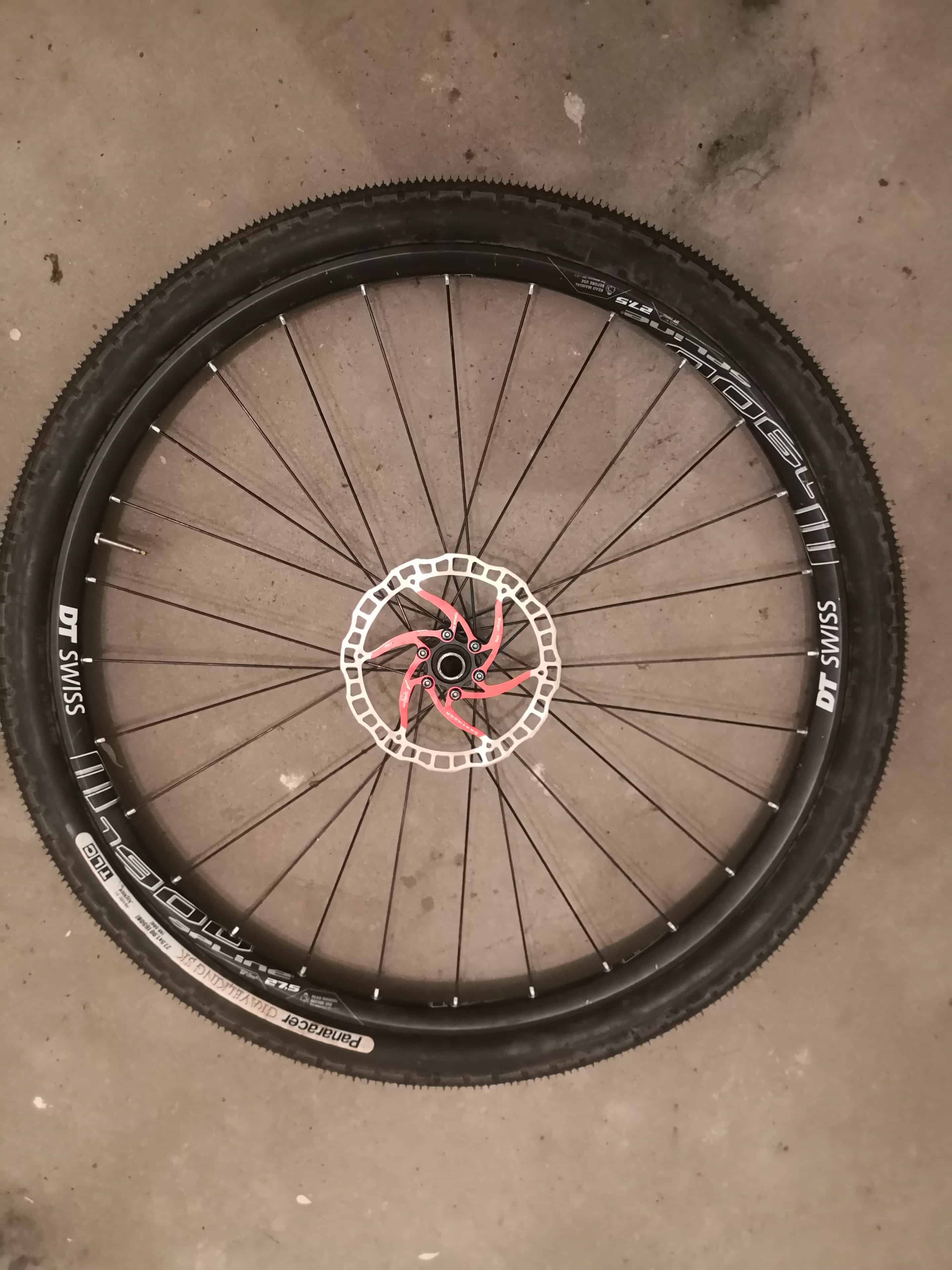 650b wheels and tires